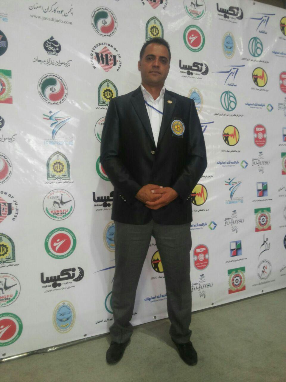 کسب مدرک داوری ممتاز ملی کاراته کا رفسنجانی در مسابقات کشوری