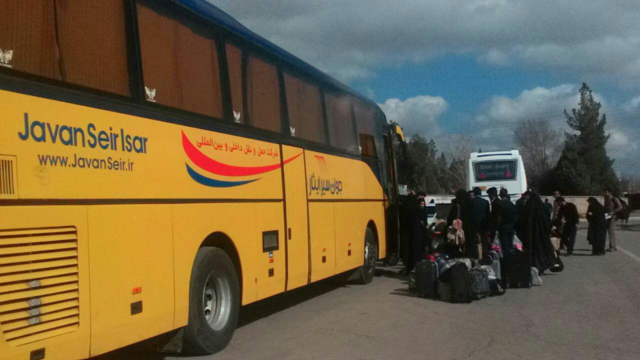 دانشجویان رفسنجانی به اردوی راهیان نور اعزام شدند