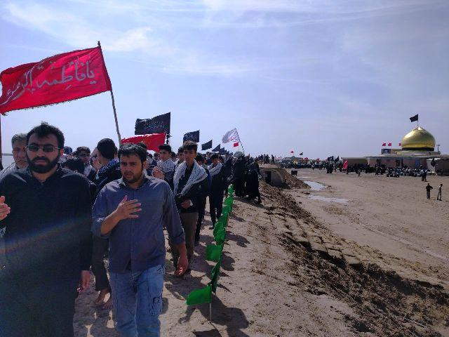 تصاویر بازدید دانش آموزان اتحادیه انجمن اسلامی رفسنجان از مناطق عملیاتی جنوب کشور