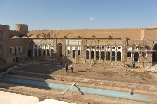 احیاء و مرمت بزرگترین خانه خشتی ایران در رفسنجان مصداق بارز اقتصاد مقاومتی است