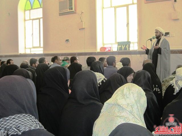 بازدید دانشجویان دختر بسیجی از مناطق عملیاتی جنوب_خانه خشتی_رفسنجان_ بهناز شریفی (۱۴)