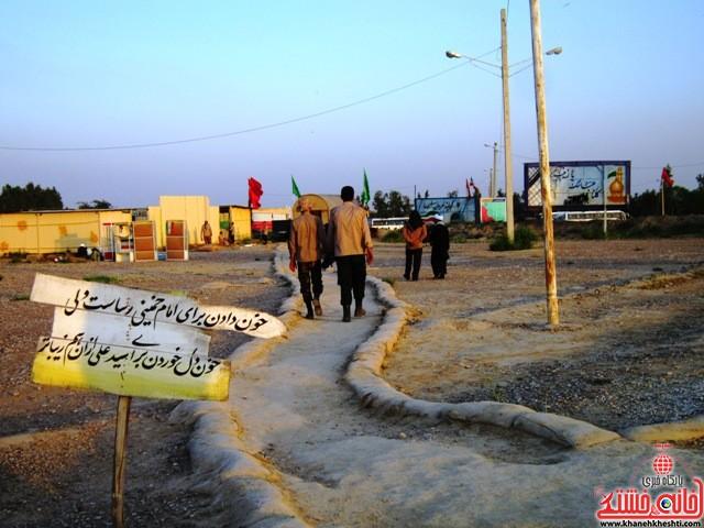 بازدید دانشجویان دختر بسیجی از مناطق عملیاتی جنوب_خانه خشتی_رفسنجان_ بهناز شریفی (۳۳)