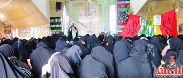 بازدید دانشجویان دختر بسیجی از مناطق عملیاتی جنوب_خانه خشتی_رفسنجان_ بهناز شریفی (۳۷)