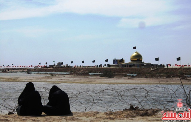 بازدید دانشجویان دختر بسیجی از مناطق عملیاتی جنوب_خانه خشتی_رفسنجان_ بهناز شریفی (۴۱)