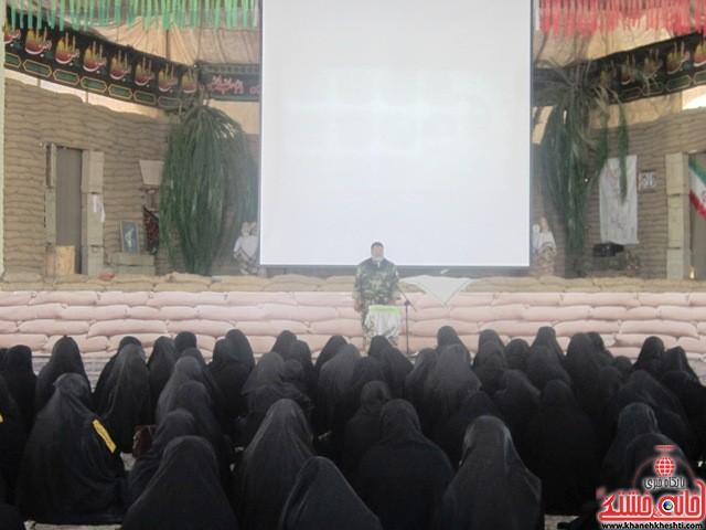 بازدید دانشجویان دختر بسیجی از مناطق عملیاتی جنوب_خانه خشتی_رفسنجان_ بهناز شریفی (۵)
