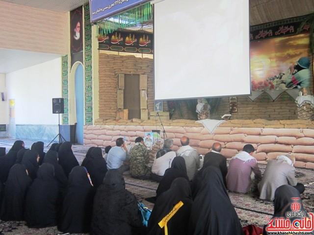 بازدید دانشجویان دختر بسیجی از مناطق عملیاتی جنوب_خانه خشتی_رفسنجان_ بهناز شریفی (۷)