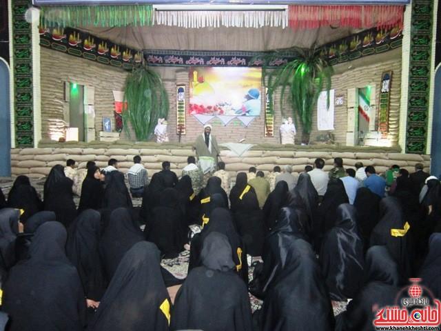 بازدید دانشجویان دختر بسیجی از مناطق عملیاتی جنوب_خانه خشتی_رفسنجان_ بهناز شریفی (۹)