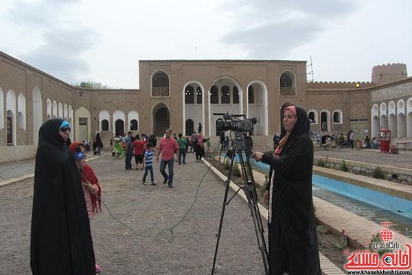 بازدید مسارفان نوروزی ار خانه حاج آقا علی-خانه خشتی-رفسنجان (۷)