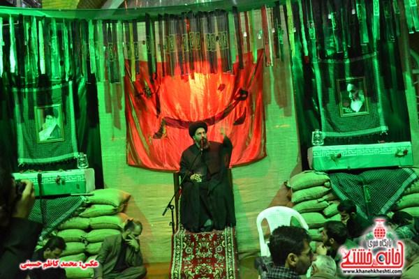 شبی در محضر شهدای هرمزآباد به روایت تصویر