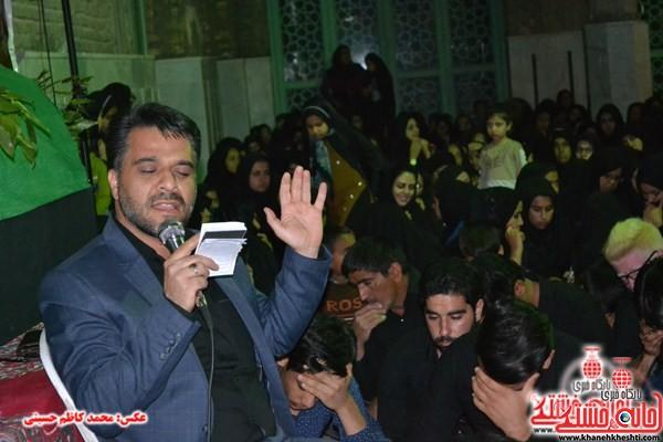 مراسم شام غریبان حضرت زهرا(س) در امام زاده سید غریب برگزار شد / تصاویر