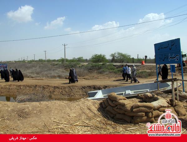 دوربین خانه خشتی در مناطق عملیاتی جنوب کشور