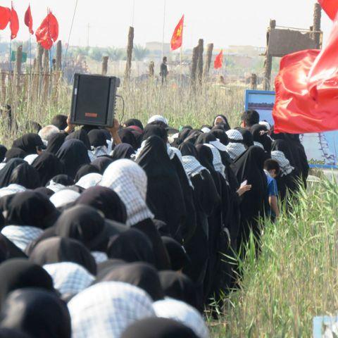 اعزام  ۵۰۰ دانشجوی دانشگاه ولی عصر(عج) به اردوی راهیان نور/ عکس