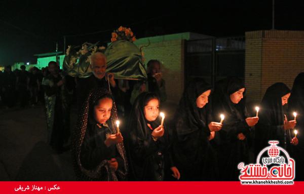 عزاداری شهادت حضرت فاطمه (س) در رفسنجان-خانه خشتی (۱۱)