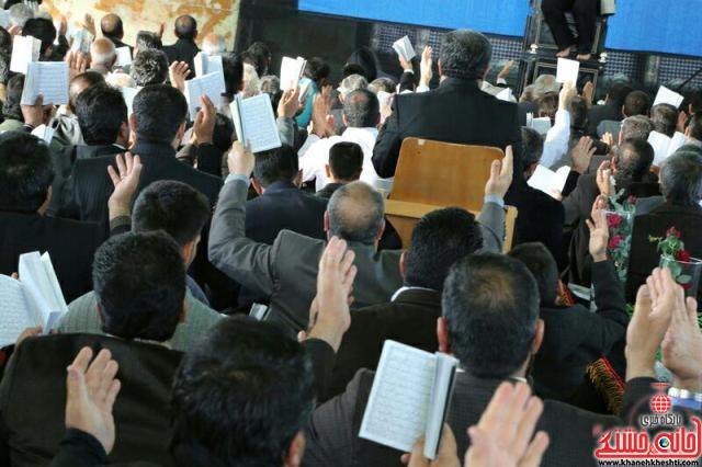 مراسم دعای ندبه-عرب آباد-خانه خشتی-رفسنجان (۱)