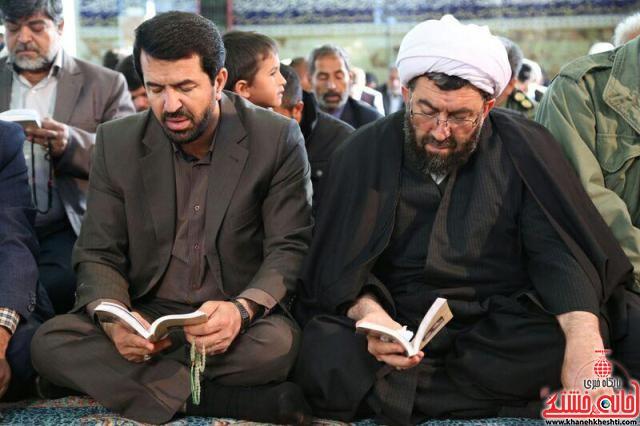 مراسم دعای ندبه-عرب آباد-خانه خشتی-رفسنجان (۵)