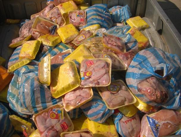 جمع آوری ۳۶۰ کیلوگرم فرآورده خام دامی فاسد در ایام نوروز در رفسنجان