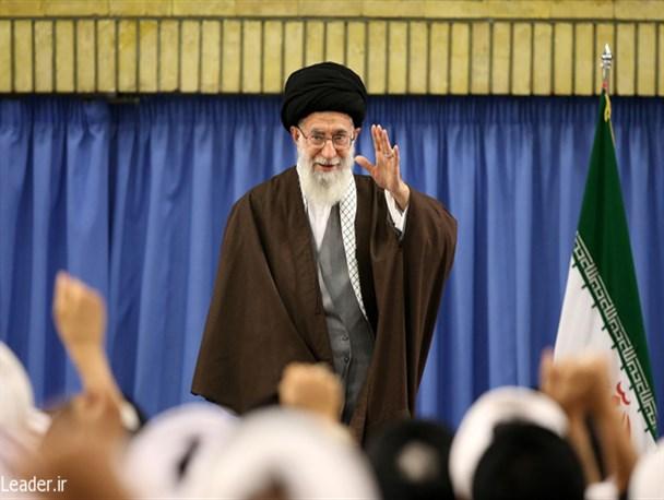 دیدار رهبر معظم انقلاب با رئیس و اعضای مجلس خبرگان رهبری