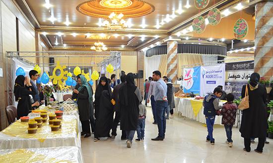 هشتمین بازارچه خیریه نوروزی زنجیره امید در رفسنجان برپا شد
