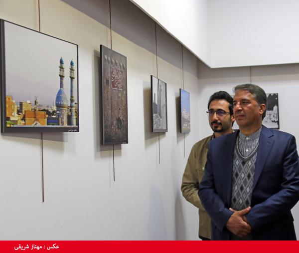 بازدید نماینده منتخب مردم رفسنجان و انار از نمایشگاه عکس سیمای شهری/ تصاویر