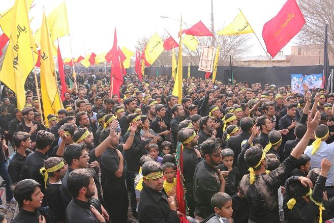اجتماع بزرگ فاطمیون در رفسنجان برگزار شد/ عکس