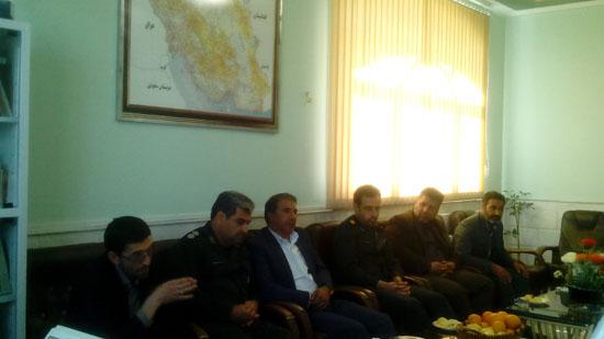 حمد محمدی انارکی نماینده منتخب مردم شهرستانهای رفسنجان و انار در دیدار نوروزی با فرماندهی و پرسنل سپاه ناحیه رفسنجان