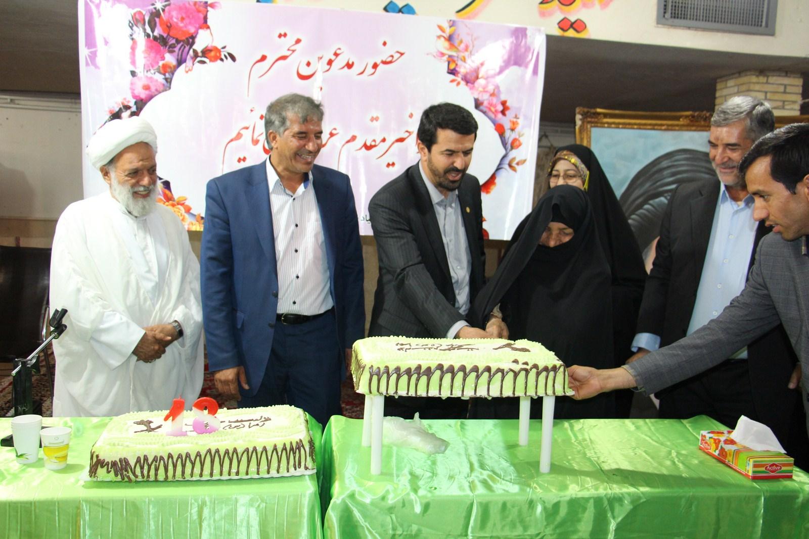 مراسم تجلیل از مادران و همسران شهداء در رفسنجان برگزار شد