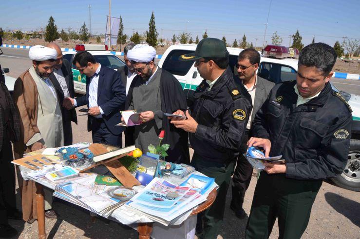 بازدید امام جمعه رفسنجان از کانکس های نوروزی / عکس