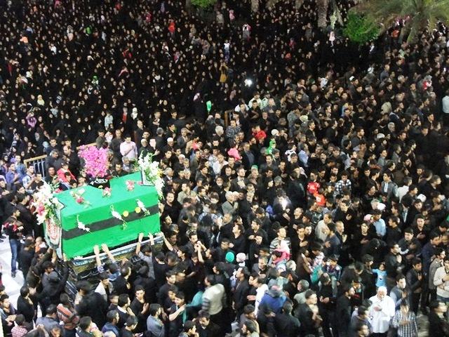 مراسم عزاداری ایام فاطمیه دوم در صحن امامزاده سیدجلال الدین اشرف برگزار می شود