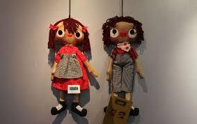 افتتاح نمایشگاه عروسک های سنتی در رفسنجان