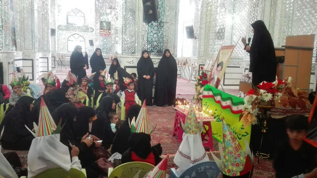 برگزاری جشن پایان دوره حفظ موضوعی خردسالان موسسه جامعه القران کریم نوق