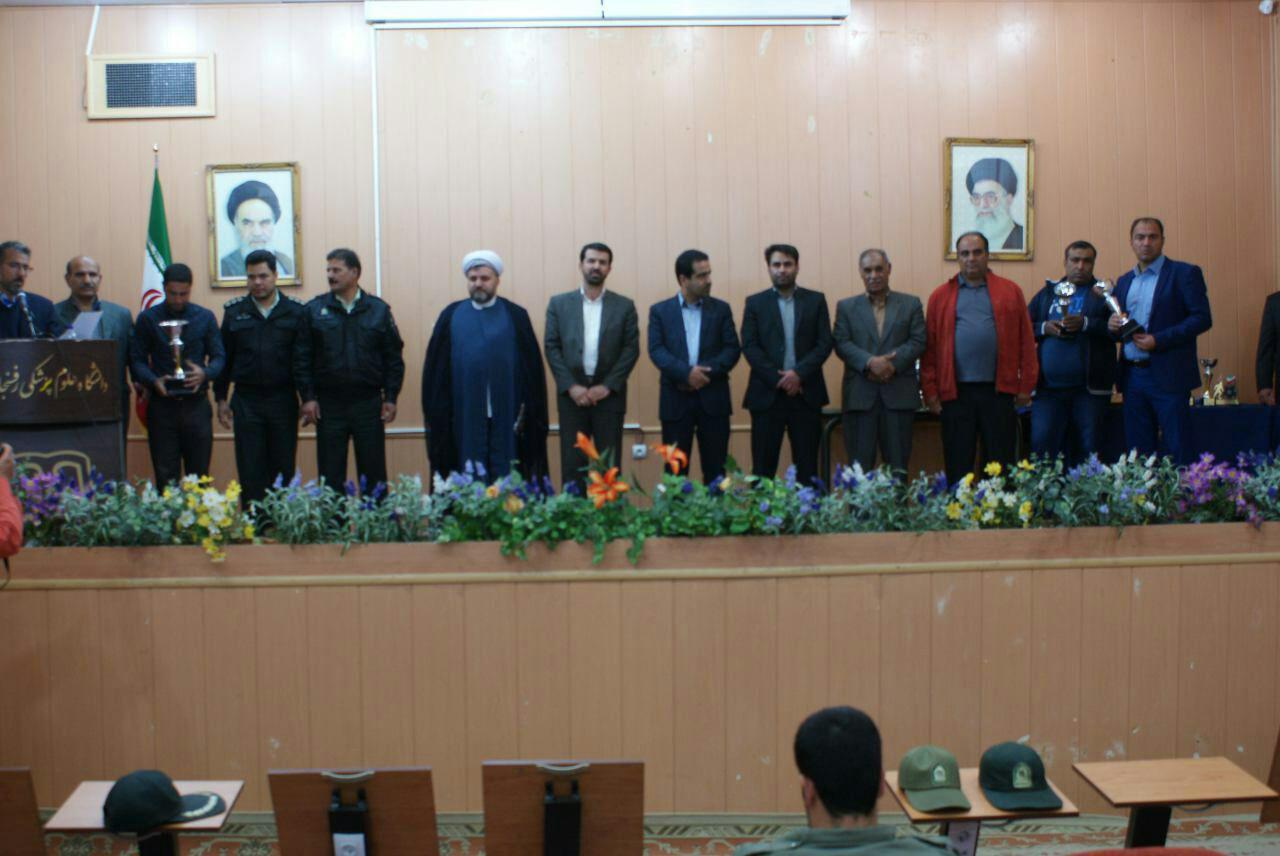 ورزشکاران فوتبال و فوتسال رفسنجانی در سال  ۹۴ تجلیل شدند
