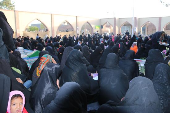 تصاویر/مراسم بزرگداشت شهیدحمیدمیرافضلی و ۲۰۱شهید گلزار شهداعباس آباد رفسنجان