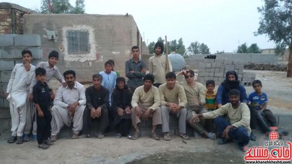 اردوی جهادی-علوم پزشکی رفسنجان-خانه خشتی (۱۵)