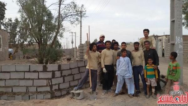 اردوی جهادی-علوم پزشکی رفسنجان-خانه خشتی (۱۶)