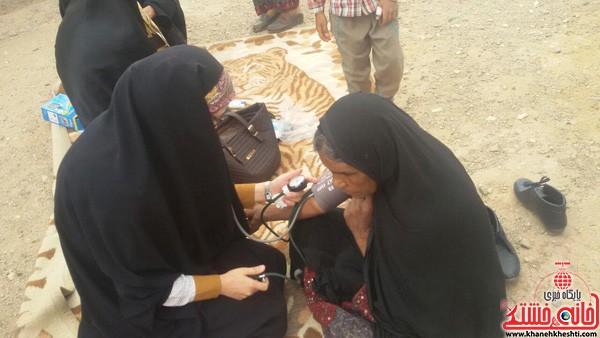 اردوی جهادی-علوم پزشکی رفسنجان-خانه خشتی (۷)