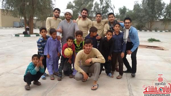 اردوی جهادی-علوم پزشکی رفسنجان-خانه خشتی (۹)