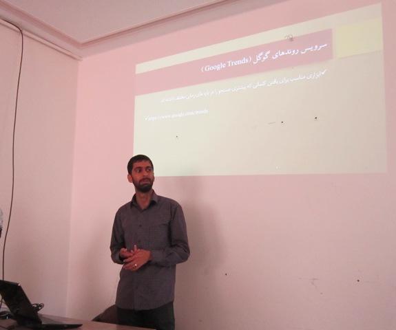 اولین دوره خبرنویسی وب در رفسنجان برگزار شد