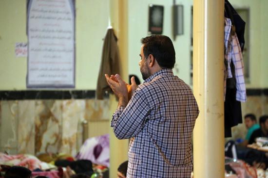 آیین اعتکاف در مسجدالنبیرفسنجان /تصاویر