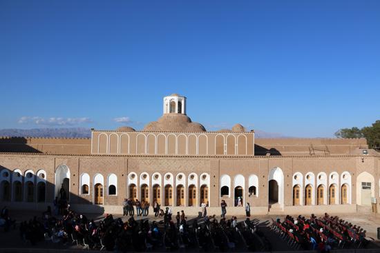 تصاویر/ اختتامیه جشنواره نوروزی مجموعه تاریخی خانه حاج آقا علی (خانه خشتی) رفسنجان