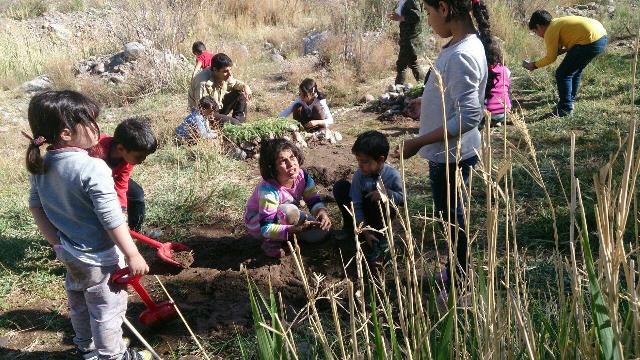 برپایی سومین برنامه مدرسه طبیعت سیار در منطقه حفاظت شده منصور آباد / تصاویر