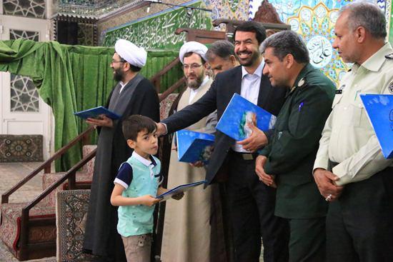 تجلیل از ۱۵۱حافظ قرآنی در رفسنجان / تصاویر