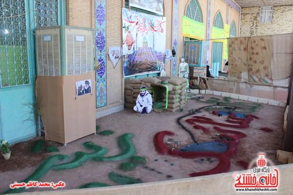 دوربین خانه خشتی در یادواره شهدا هرمزآباد (۳)