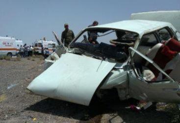حادثه در محور انار به رفسنجان / عکس