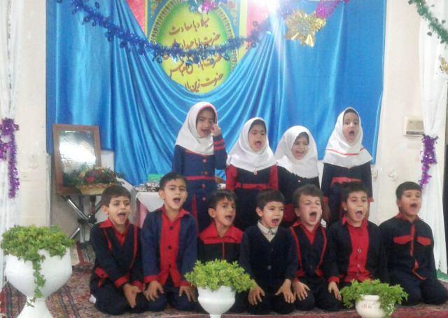جشن پایان دوره پیش دبستانی مؤسسه قرآنی زادالمعاد برگزار شد/ عکس