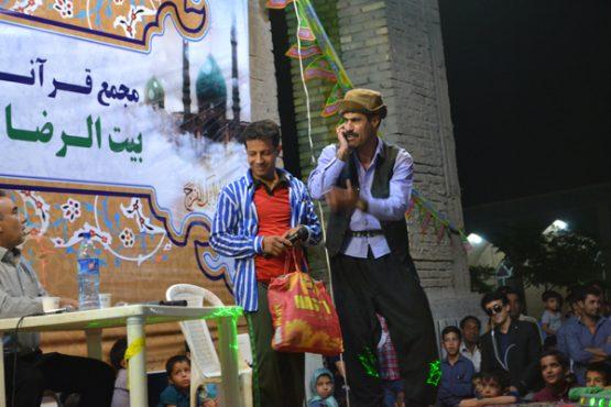 جشن نیمه شعبان در امام زاده سید غریب رفسنجان برگزار شد/تصاویر