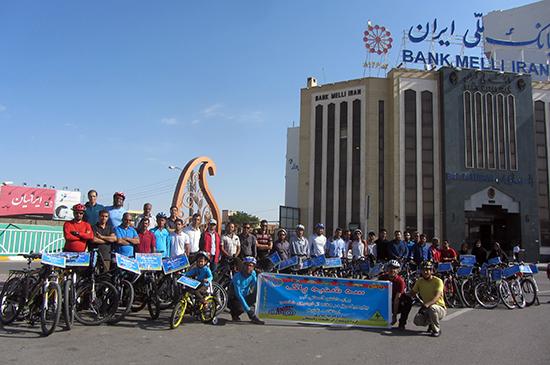 بیست و یکمین برنامه سه شنبه پاک بدون خودرو در رفسنجان برگزار شد