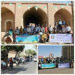 بیست و دومین برنامه سه شنبه پاک بدون خودرو در رفسنجان برگزار شد