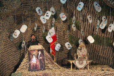 دوربین خانه خشتی در اولین روز از یادواره شهدای لاهیجان رفسنجان