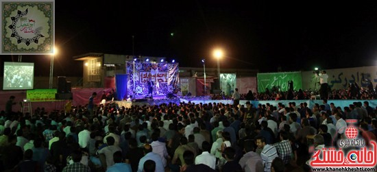 حضور چشمگیر مردم در جشن بزرگ شعبان تکیه عاشقان ابوالفضل(ع)رفسنجان