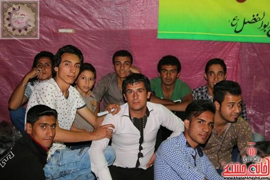 حضور جوانان در جشن بزرگ شعبان تکیه عاشقان ابوالفضل(ع)رفسنجان